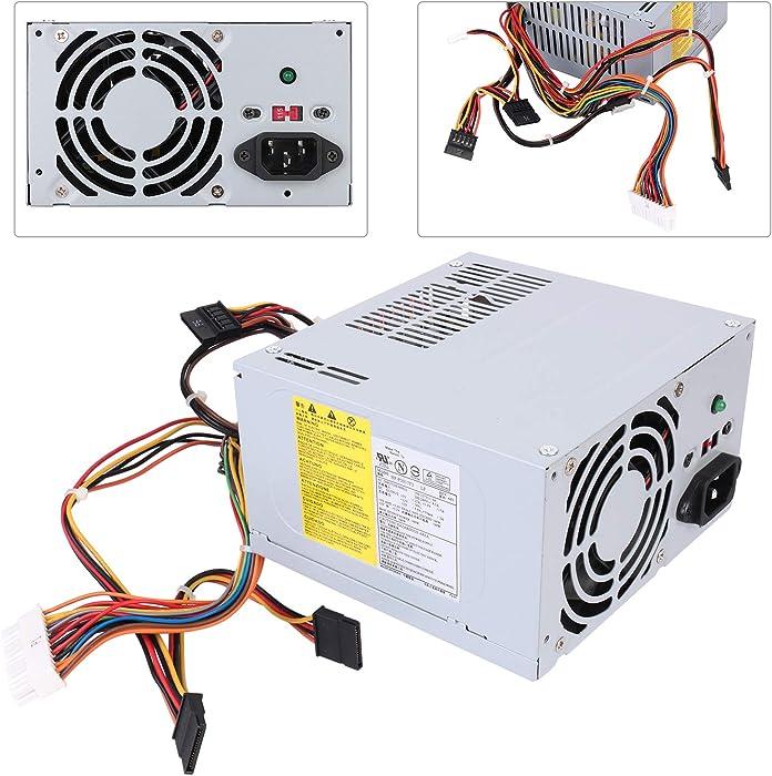 ARLBA New Replacement 300W HP-P3017F3 Power Supply for Dell Vostro 200,220 420, Inspiron 620, Studio, Precision Series Mini Tower MT Systems PS-5301-08,HP-P3017F3 LF,J036N, XW600,PS-6351-2 300 Watt