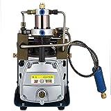 110V 220V 300BAR 30MPA 4500PSI High Pressure Air Pump Electric Air Compressor for Pneumatic Airgun Scuba Rifle PCP Inflator (YH01JJ) (110 V)
