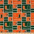 Sykel Enterprises NCAA Miami Hurricanes Collegiate, Yard, Green/Orange