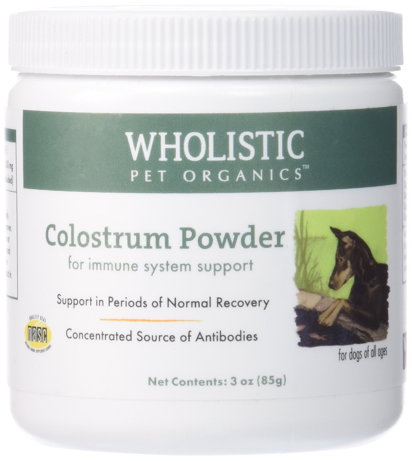 Wholistic Pet Colostrum 3oz by Wholistic Pet Organics