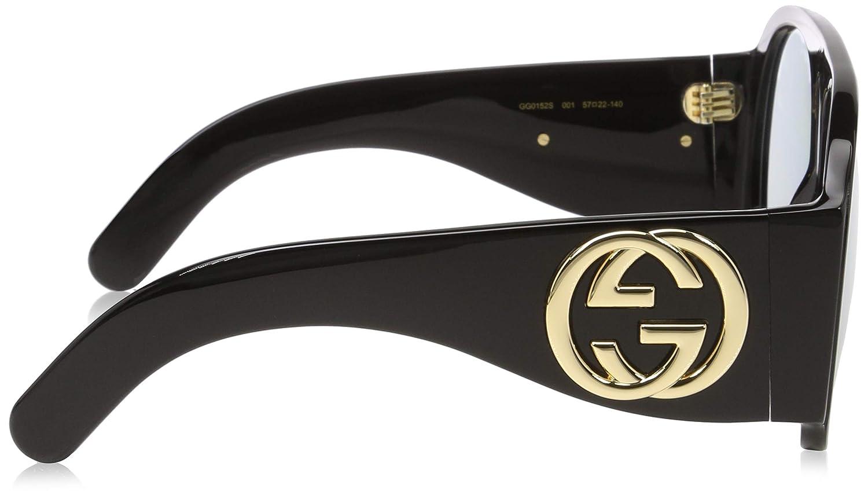 Amazon.com: Gucci GG0152S - Gafas de sol para mujer, color ...