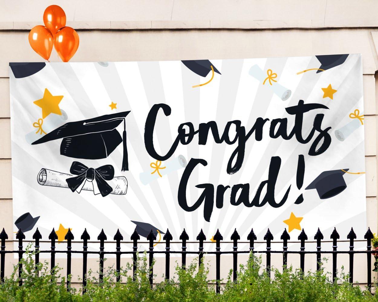 Amazon.com: Graduation Banner 2020 – Graduation Decorations 2020 ...