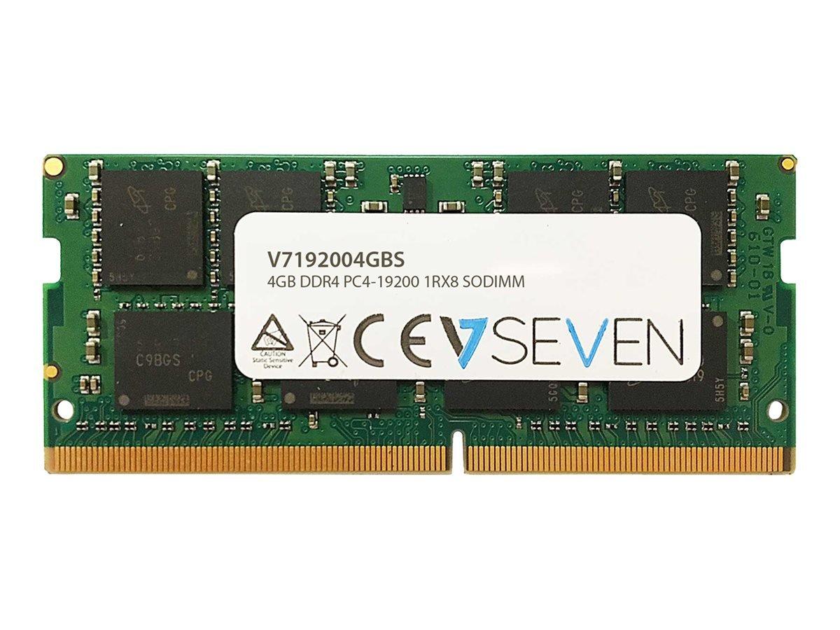 Memoria RAM 4GB V7 DDR4 2400MHZ CL17 SO DIMM PC4-19200 1.2V (V7192004GBS)