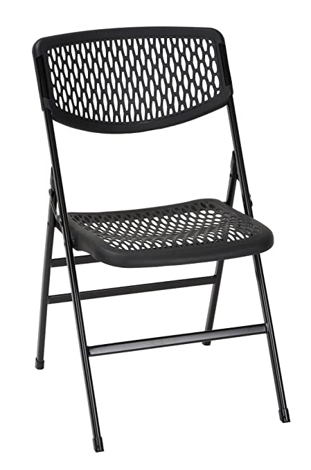 Exceptionnel Cosco Products COSCO Commercial Resin Mesh Folding Chair, Black, 4 Pack