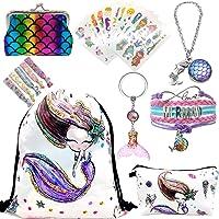 RLGPBON Unicornios Mochila con cordón/Maquillaje Bolsa/Collar de Cadena