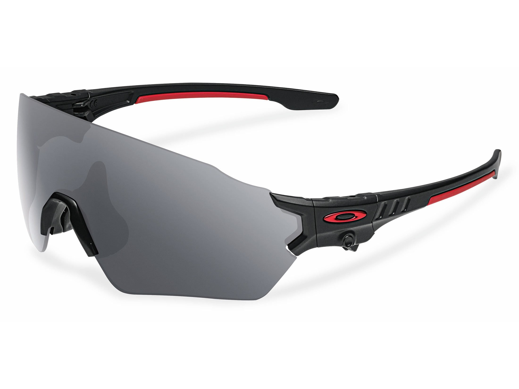Oakley SI Tombstone Shooting Glasses Matte Black Spoil Frame/Black Iridium by Oakley