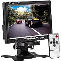 Tela Lcd 7 Polegadas Portátil 7002 Monitor Veicular Digital