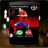 David Villa Full Screen Photo Call Receiver