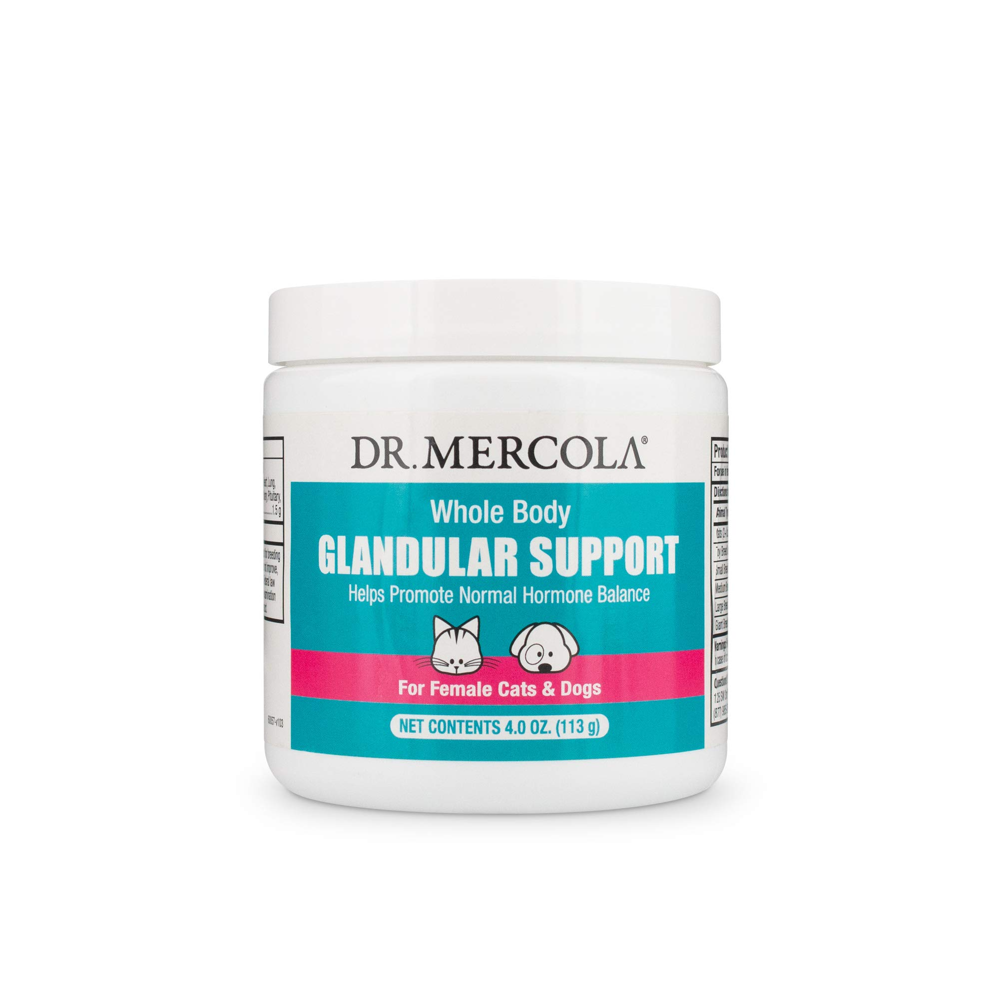 Dr. Mercola Glandular Support for Pets