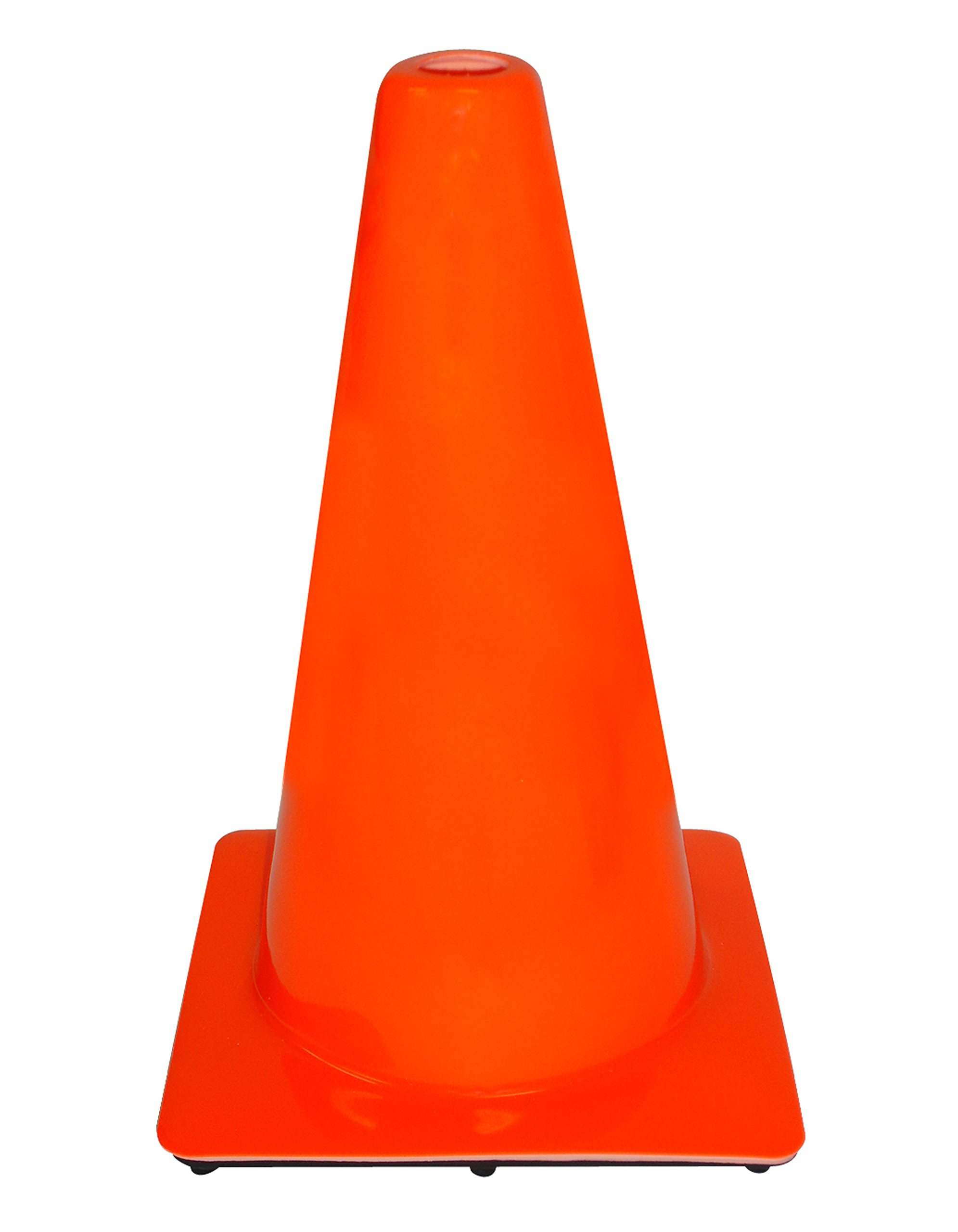 3M 90128-00001-10, 18'' Professional Quality Non Reflective Safety Cone, 10-Pack
