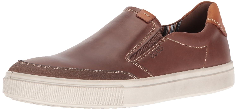 Cocoa Brown ECCO Men's Kyle Slip on Fashion Sneaker