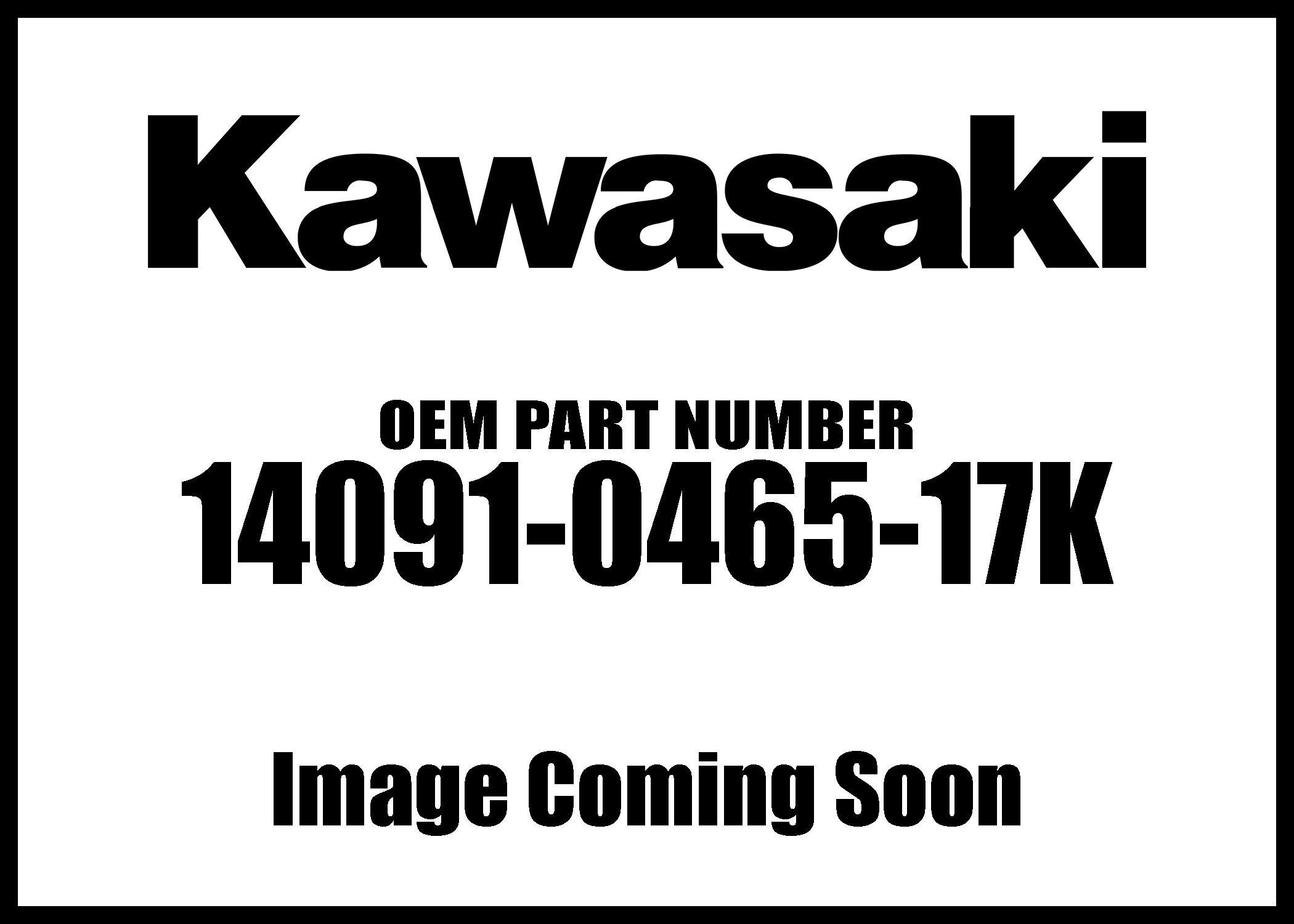 Kawasaki 2007 Er-6N Cover Meter M.Black 14091-0465-17K New Oem