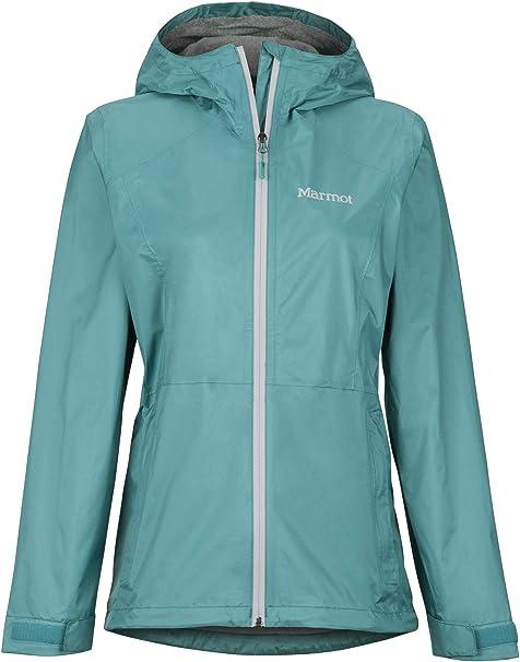 Marmot Wms Precip Jacket Traspirante Donna Impermeabile Giacca Hardshell Antivento