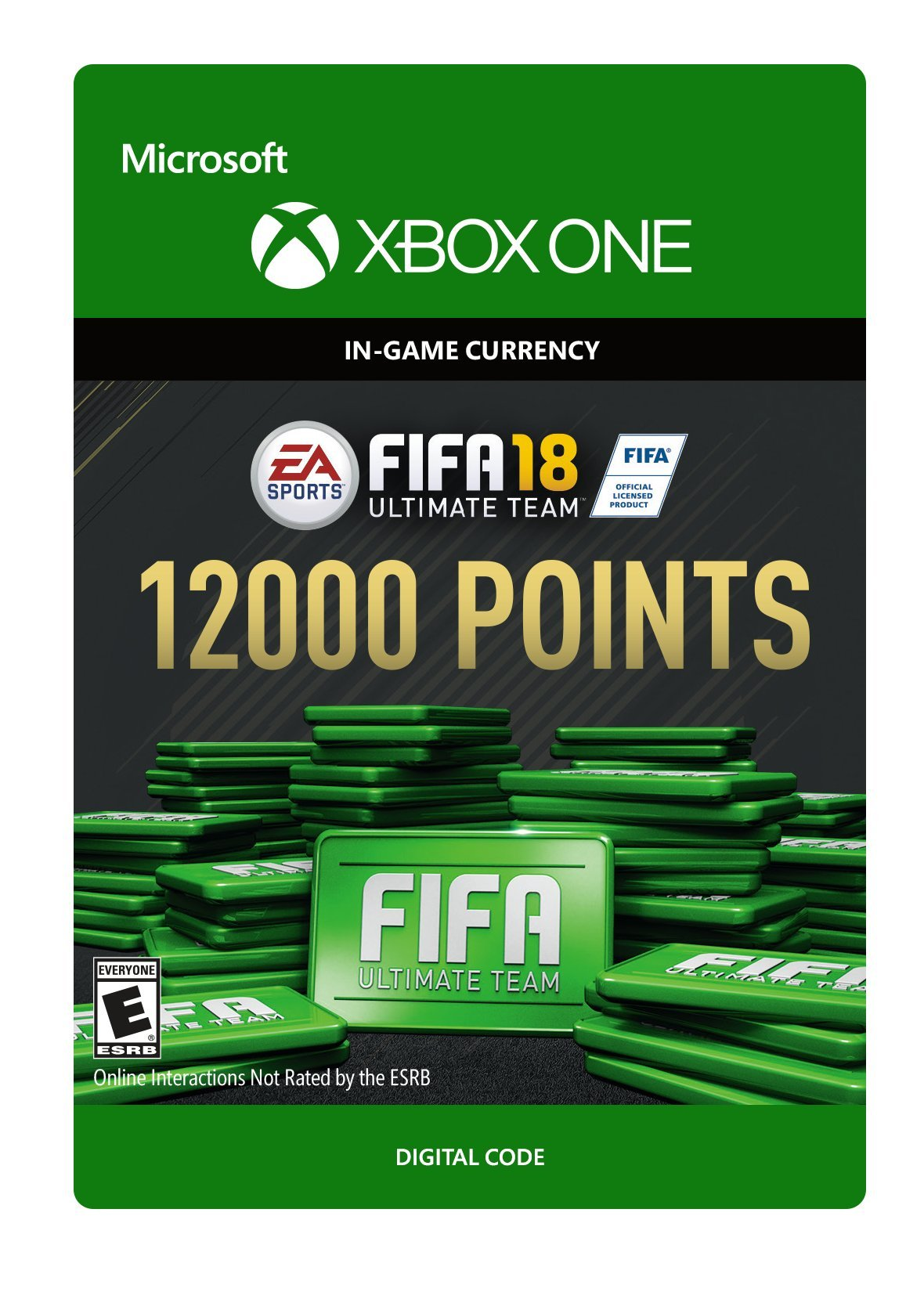 FIFA 18: Ultimate Team FIFA Points 12000 - Xbox One [Digital Code]