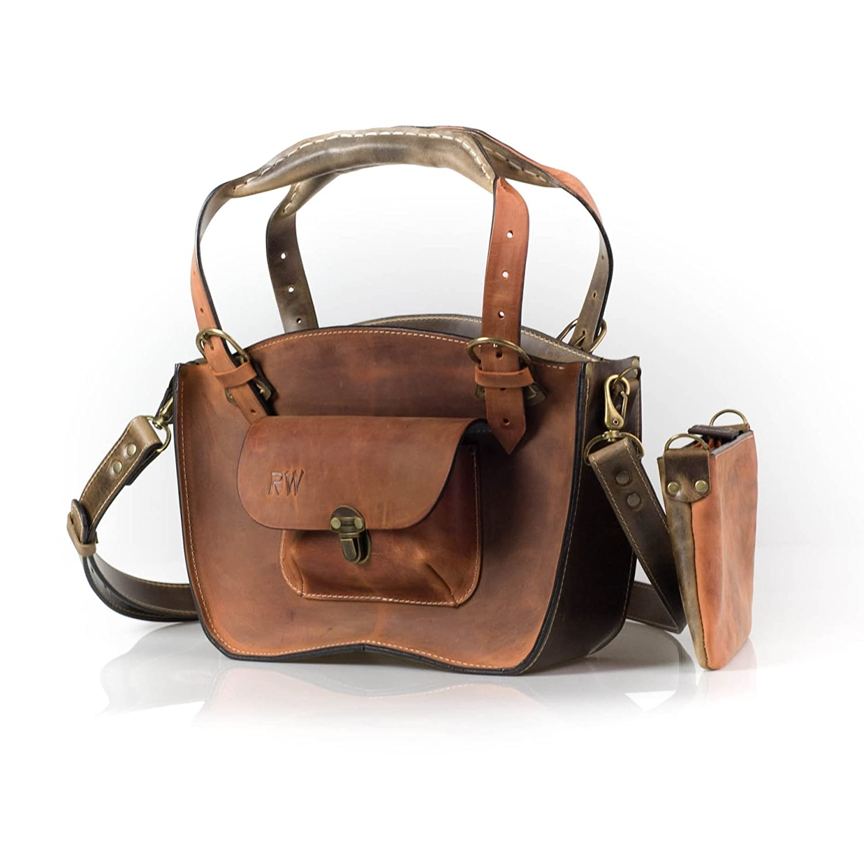 958d679e45 Amazon.com  Handmade   Handstiched Leather Designer Tote Bag