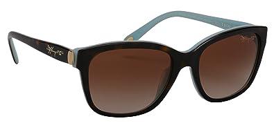 Tiffany & Co. TF4083 gafas de sol, Marrón (Havana Blue ...