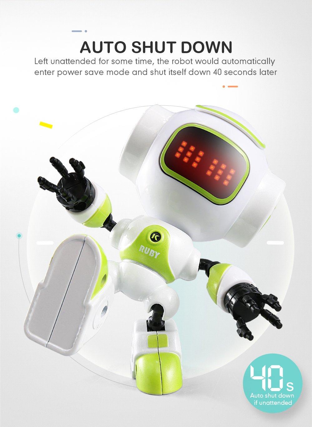 OMZBM Smart Portable Robot Juguetes Multifuncioacute;n Educacioacute;n Educacioacute;n Educacioacute;n Temprana RC Juego Interactivo Mejor Regalo Chicos Nintilde;as Nintilde;os Nintilde;o Compantilde;ero,Bverde 91529e