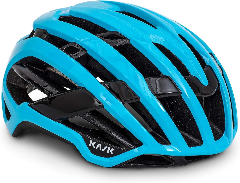 Kask Valegro Casque v/élo de Route Mixte Adulte M-48//58cm Bleu Clair
