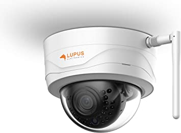 Lupus 3mp Wlan Ip Camera For Outdoors Sd Slot 100 Night Vision Motion Detection Ios And Android App Can Be Integrated In Smart Home Alarm Systems Includes Management Software Black White B07h9rkhhp