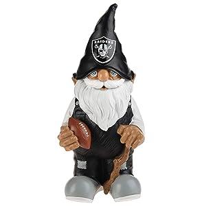 """FOCO NFL Resin 11.5"""" Team Logo Gnome"""