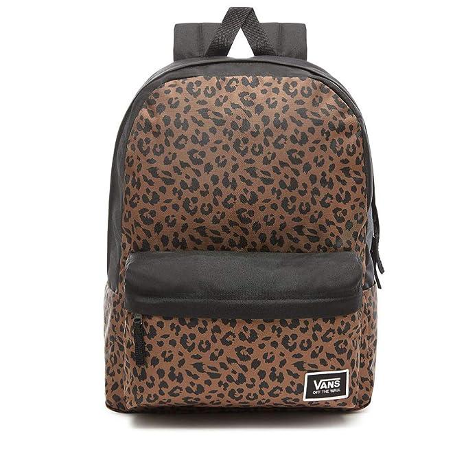 VANS Realm Classic Backpack Leopard Schoolbag VN0A3UI7LPR Vans Bags   Amazon.es  Ropa y accesorios 149a14b3928