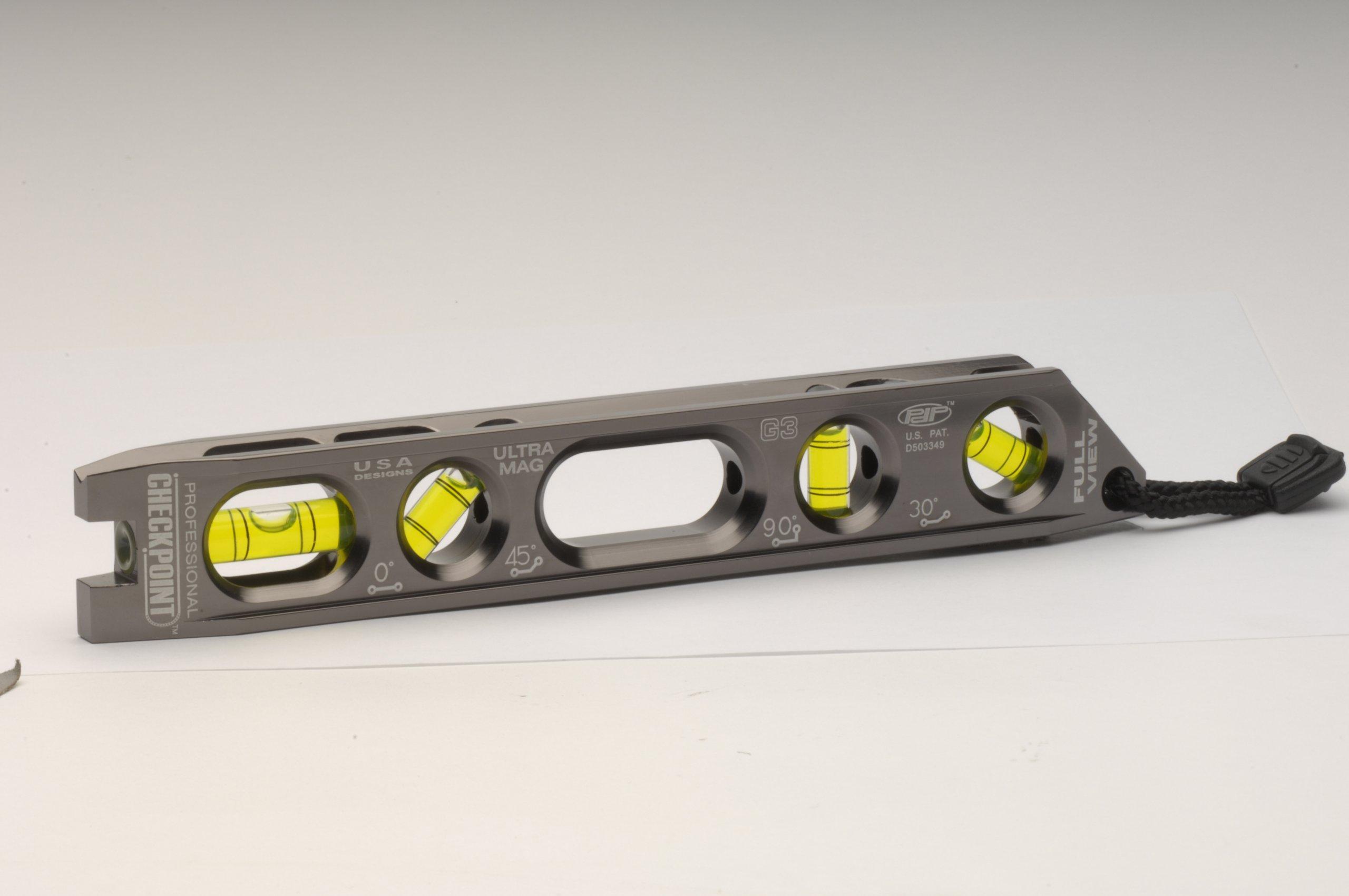 CHECKPOINT 0300PL Pro Mag Precision Torpedo Level, Platinum