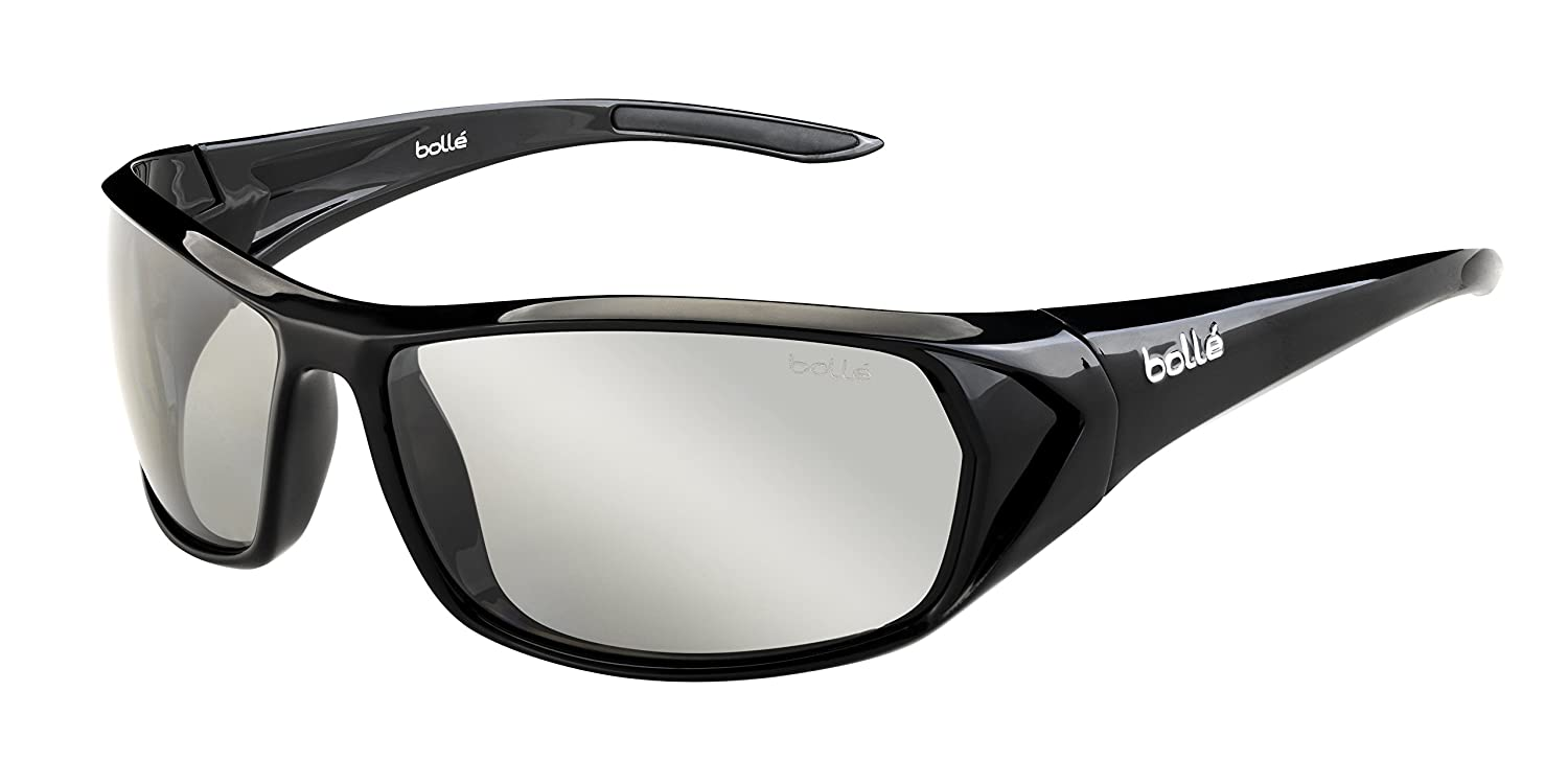 Bolle Blacktail Sunglasses, Shiny Black/Modulator Polarized Gray Oleo AF