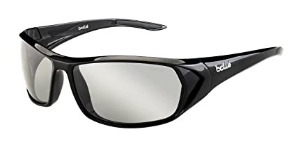 59ae3919f8 Amazon.com: Bolle Blacktail Sunglasses, Shiny Black/Modulator ...