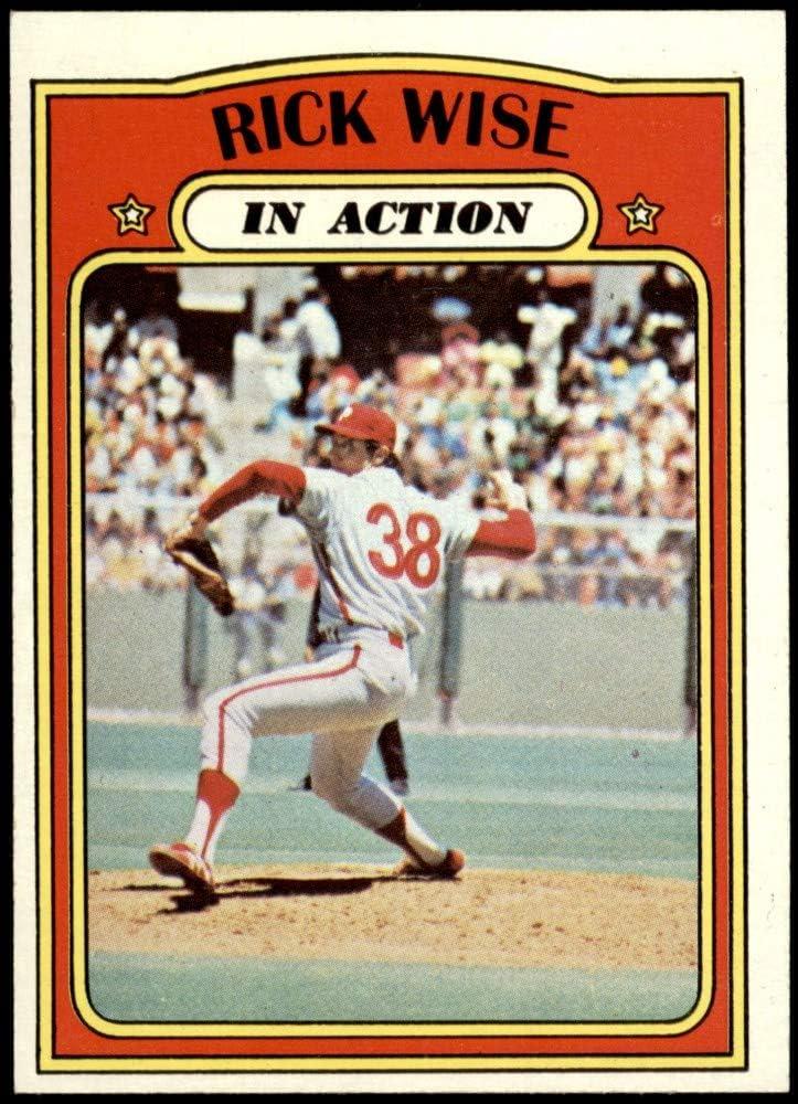 1972 Topps Baseball Card-Rick Wise//Philadelphia Philles