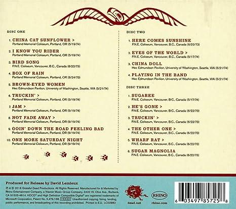 Grateful Dead Pacific Northwest 73 74 Believe It If You Need It