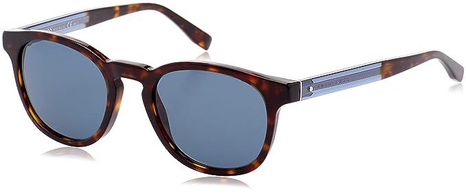 BOSS Hugo Boss Hugo Boss Herren Sonnenbrille Boss 0803/S 9A Uho, Blau (Havana Blue/Bluette), 51