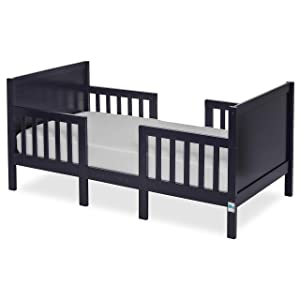 Dream On Me Hudson 3 In 1 Convertible Toddler Bed, Navy