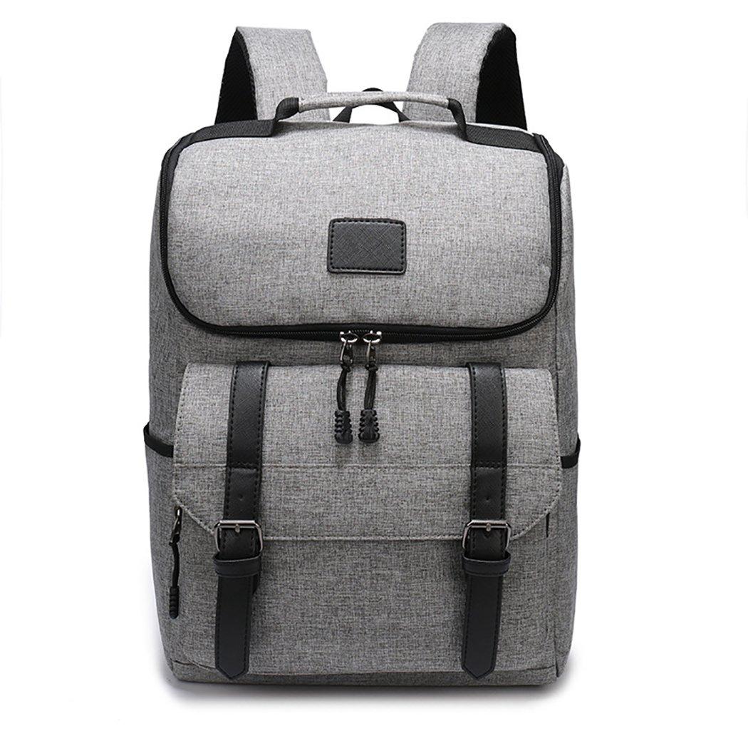 Coafit Casual Backpack College Backpack Laptop Backpack for Men (Grey)