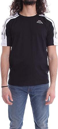Kappa Banda 10 ARSET Unisex T-Shirt Pink//White//Black