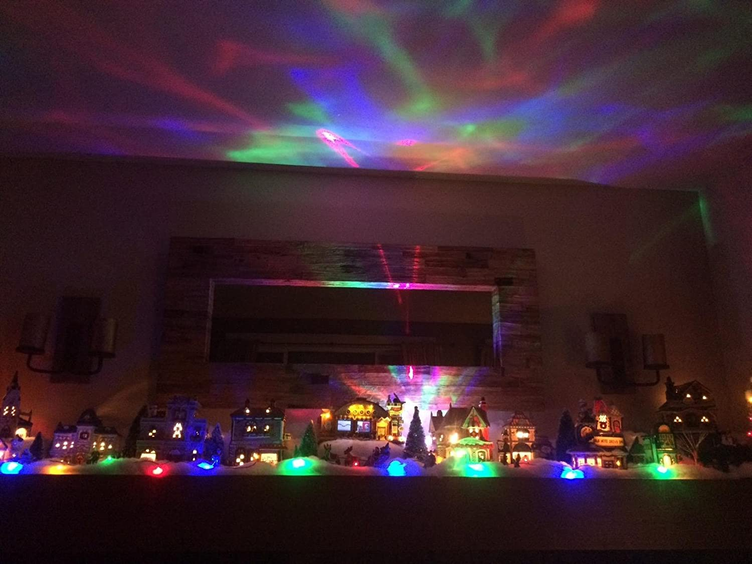 New SOAIY Color Changing Aurora Projection LED Night Light Lamp ...