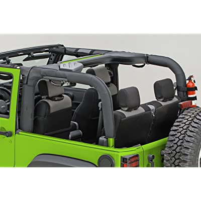 Outland 391361302 Black Polyester Roll Bar Cover for Jeep JK Wrangler: Automotive