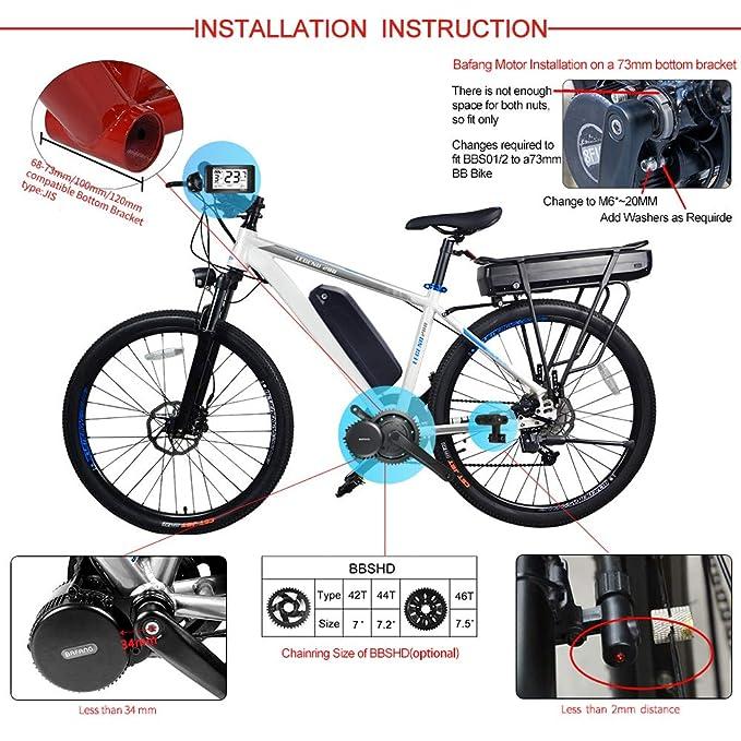 Elektrofahrräder Daumenhebel Für BBSHD BBS01B BBS02B Ersatzteile Für Den Mittleren Antrieb Neu