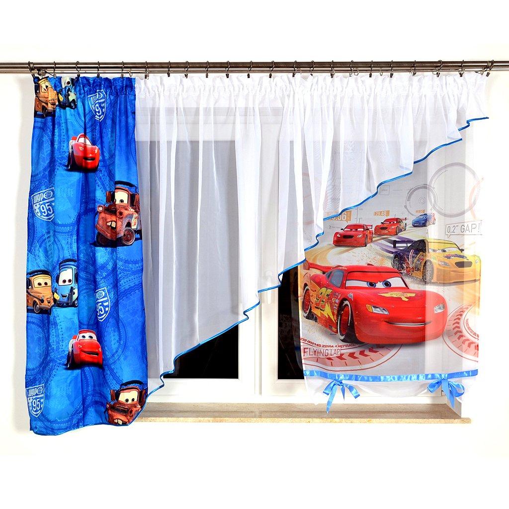 MB GMC-2 Disney Kindergardine für Jungen Kinder mit Motiv Motiv Motiv Cars für Kinderzimmer Jungenzimmer Blau cc8799