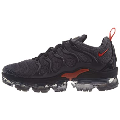 uk availability 64da6 e1a74 Nike Mens Air Vapormax Plus Fitness Shoes, Multicolour (Cool GreyTeam  Orange