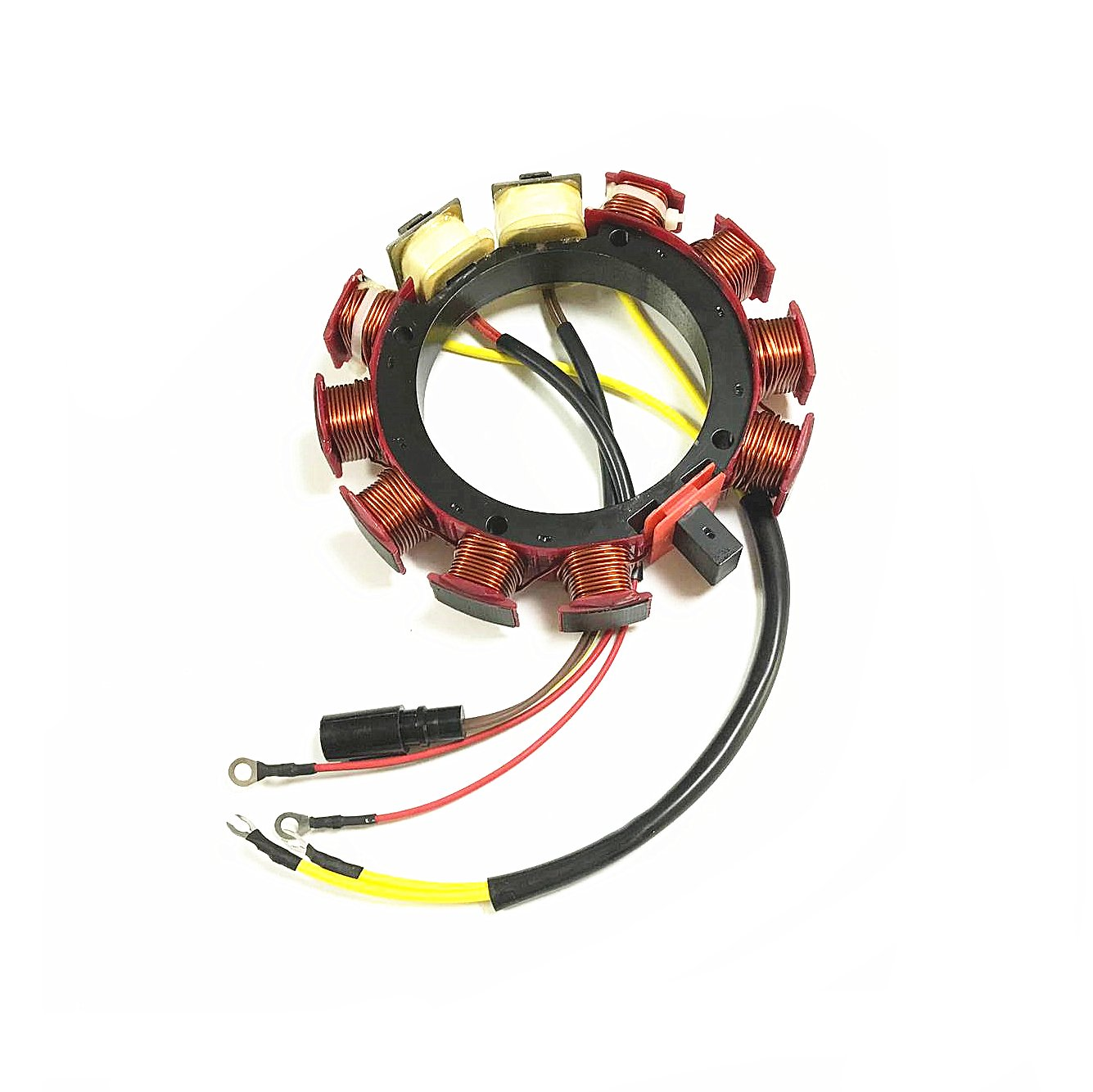 JETUNIT outboard Stator Assy For Johnson Evinrude 35 AMP 4 Cylinder 120 130 140hp Sea Drive 2.0L 1988 4 Cyl 173-4288 583561 584288