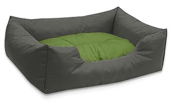 BedDog colchón para Perro Mimi S hasta XXXL, 26 Colores, Cama para Perro, sofá para Perro, Cesta para Perro, L Gris/Verde: Amazon.es: Productos para ...