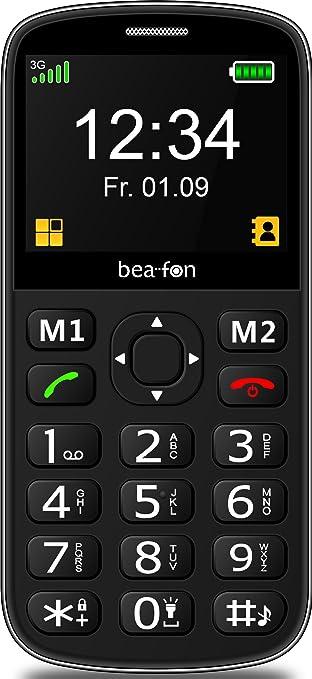 Beafon Handy Mit 3g Sl340i Schwarz Elektronik