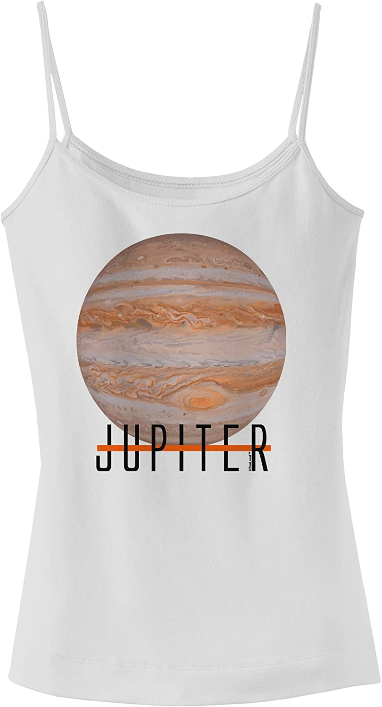 TooLoud Planet Jupiter Text Muscle Shirt