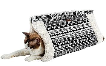 Morezi - Saco de Dormir para Gatos (cálido, 2 Colores): Amazon.es: Productos para mascotas