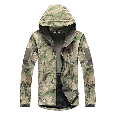 Amazon.com: Chaqueta para hombre, chaqueta militar ...