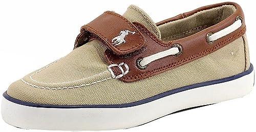 Polo Ralph Lauren Kids Sander-CL Boat Shoe Toddler//Little Kid//Big Kid