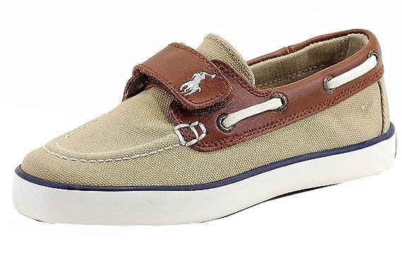 4a5292397d Amazon.com: Polo Ralph Lauren Boy's Sander-CL EZ Fashion Boat Shoes ...