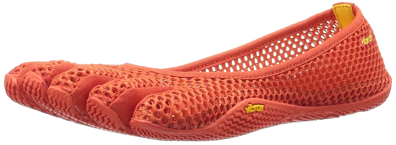 Burnt orange Vibram Women's VI-B Fitness and Yoga shoes