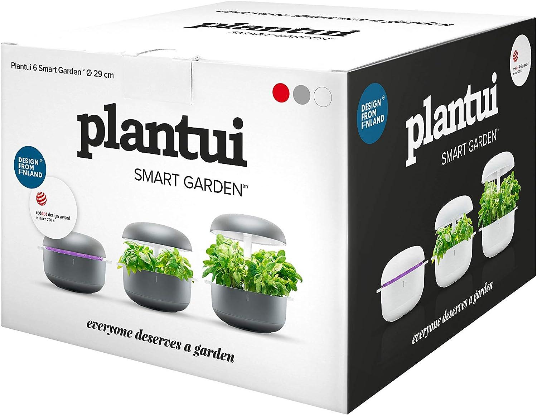 29x29x37 cm Bianco Plantui SG6-W Smart Garden
