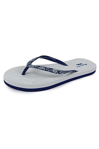 c5e9926f3953 Spunk Women s White PVC Flip-Flops - 4 UK  Buy Online at Low Prices ...